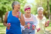 How much should seniors exercise to improve brain function?